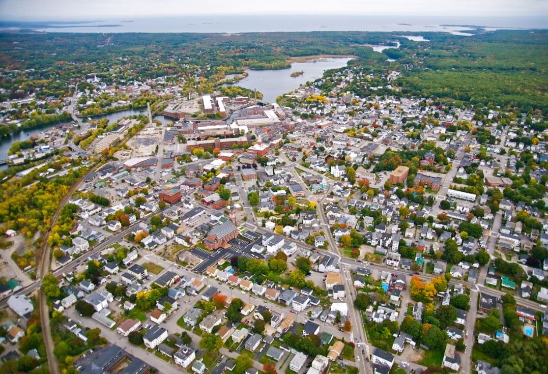 Aerial Photo of Biddeford