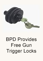 Are Your Guns Safely Stored - BPD Provides Free Trigger Locks