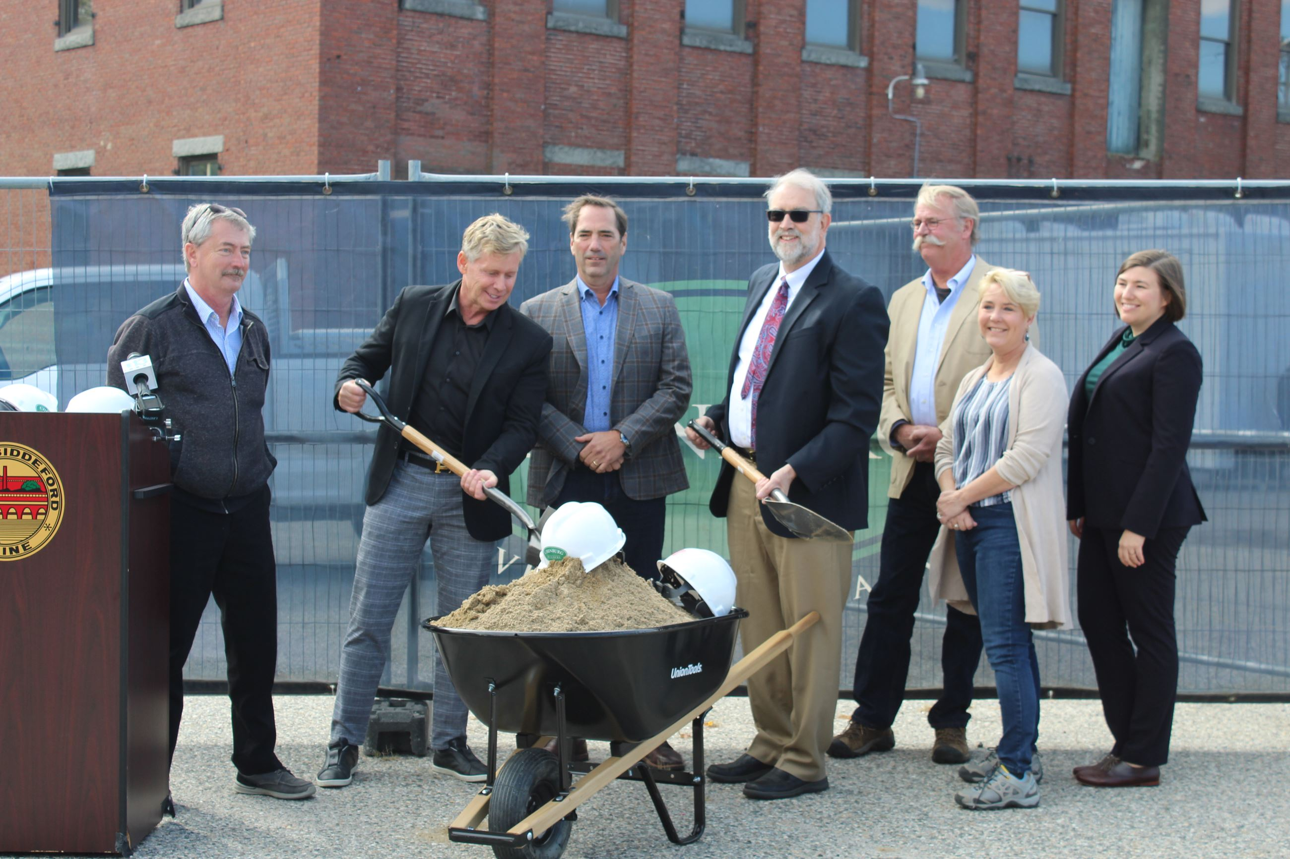 City Council at Lincoln Mill Groundbreaking