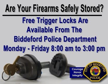 Are Your Firearms Safely Stored Graphic