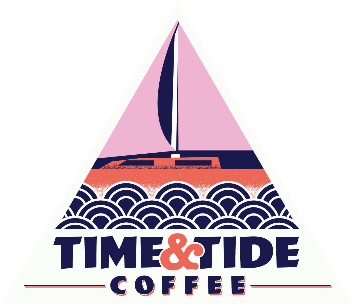 Time and Tide Coffee Logo