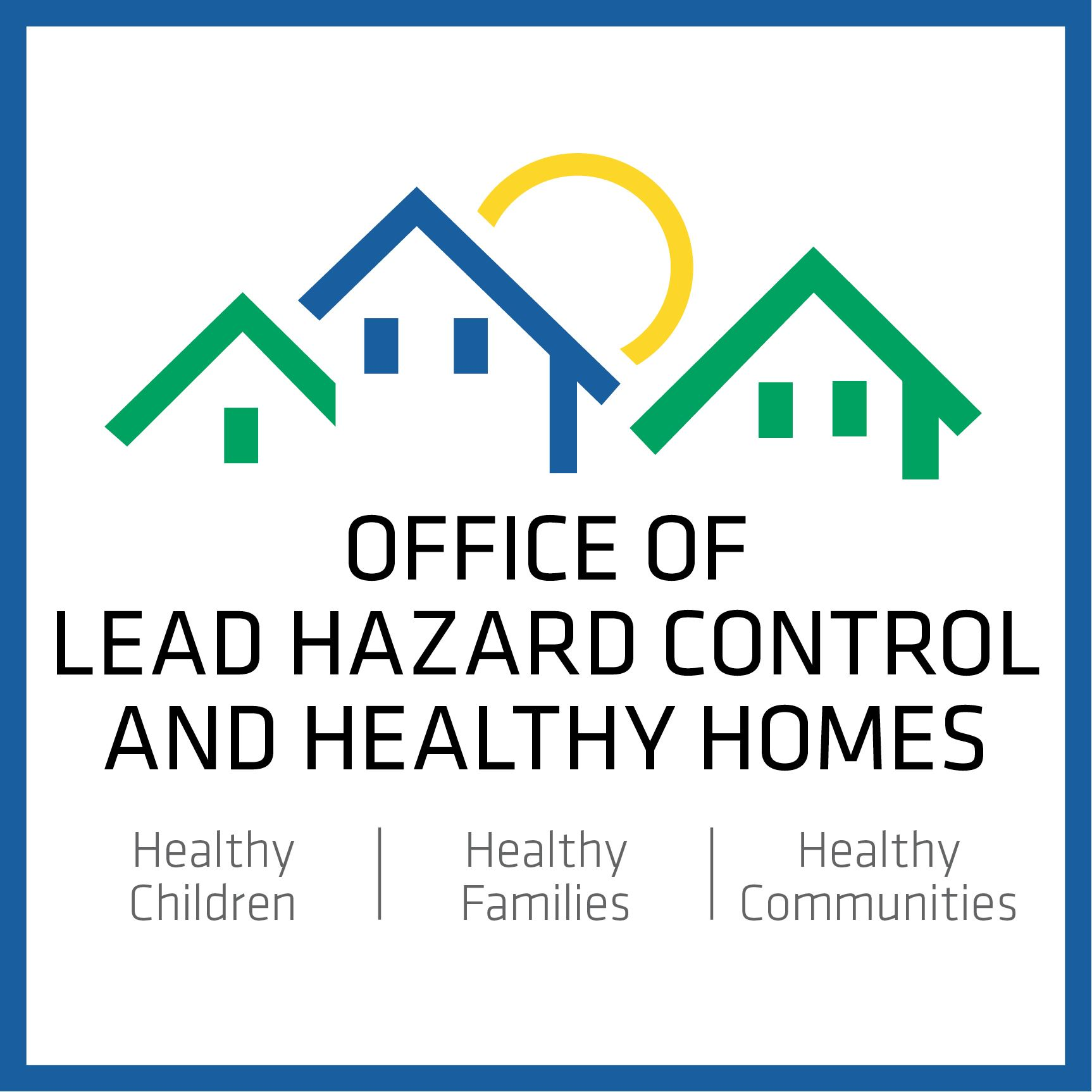 HUD Office of Lead Hazard Control and Healthy Homes Logo