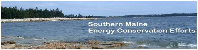Southern Maine Energy Conservation Efforts Banner