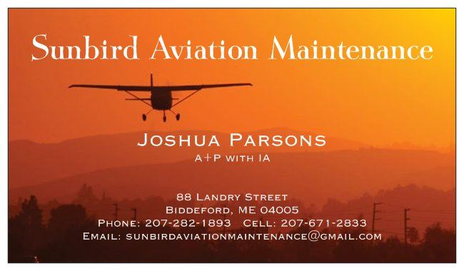 Sunbird Aviation Maintenance